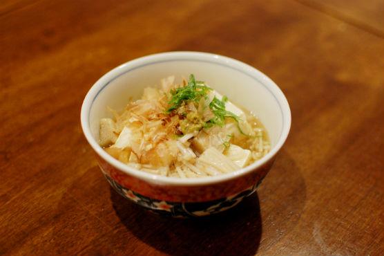 えのきあんかけ豆腐