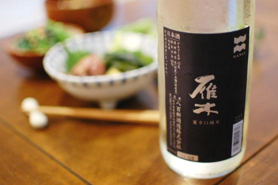 山口の酒 雁木 夏 辛口純米