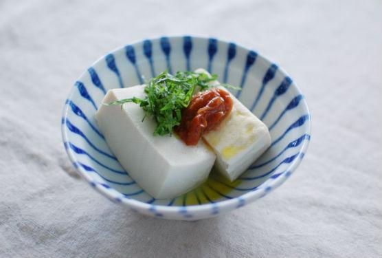 梅しそ豆腐