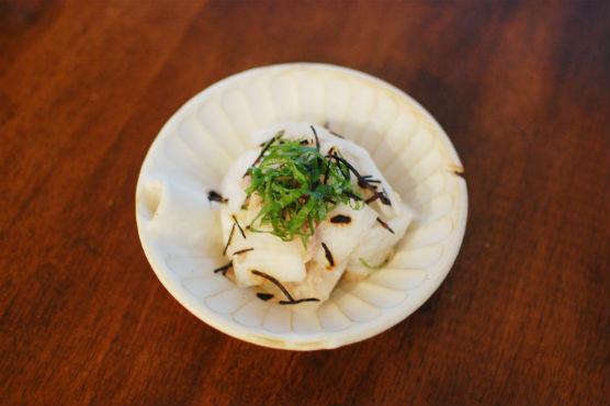 大根とツナの塩昆布サラダ
