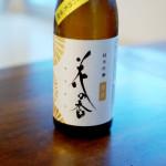 熊本の酒  花の香 純米吟醸 菊花で晩酌 茹でえび和風タルタルソース。