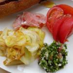 パセリ大量消費レシピ 7/26  パセリがたっぷり食べられるタブーリ。