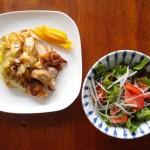 鍋ひとつで料理 8/17 塩豚とキャベツのポットロースト