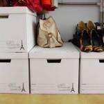 クラフトボックスで収納がない部屋の収納を改善する。