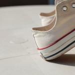 ミニマリストの秋の靴。