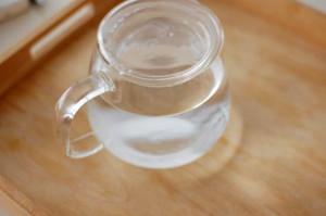 カリッとした毎日。白湯。