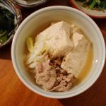 秋の献立 10/7 豚で肉豆腐他全5品の晩酌。