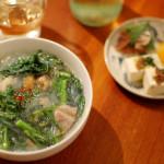 春雨レシピ 11/2 エスニックな鶏春雨スープ。