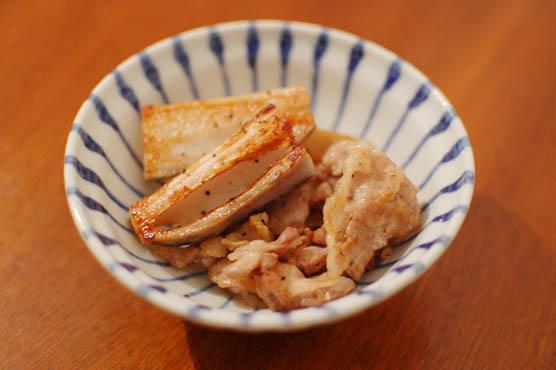 豚肉とれんこんの塩焼きレシピ