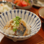 家飲み献立 12/18 鯖のおろし和え、白菜の豆乳煮込み。