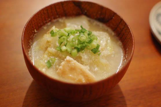 白菜の豆乳煮込み 141218d5