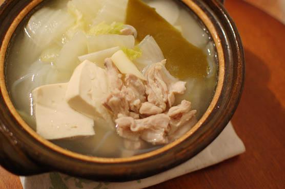 鶏塩鍋 レシピ