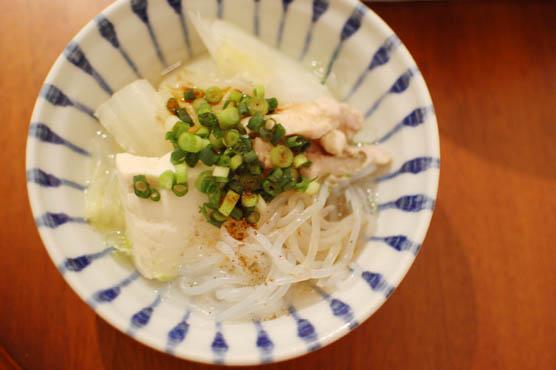 せせりの塩出汁鍋 レシピ