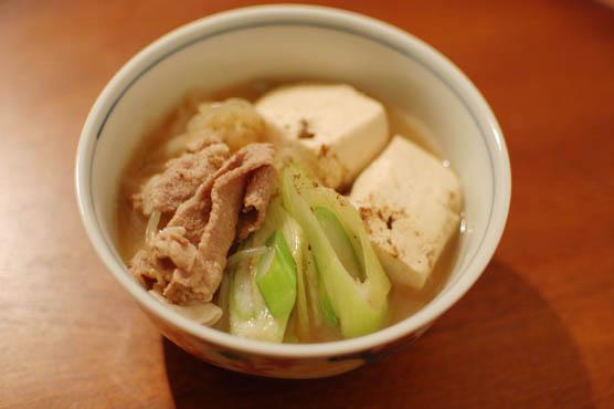 豚コマ 肉豆腐 レシピ