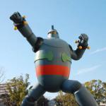 鉄人28号モニュメント 神戸、長田にて。