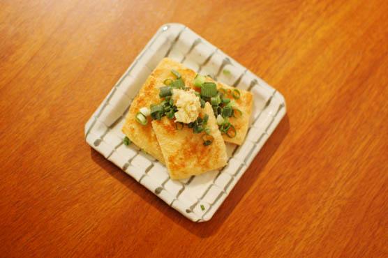 焼き油揚げ おつまみレシピ