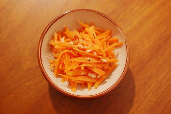 にんじんとツナのサラダ レシピ