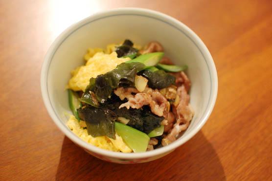 豚肉とわかめの卵炒め(木須肉 ムーシーロー) レシピ