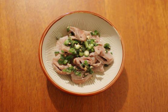 砂肝の葱ダレ和え レシピ