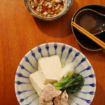 銀座・三州屋的 鶏豆腐。
