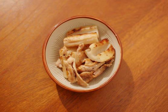 蓮根と豚肉の塩焼き レシピ