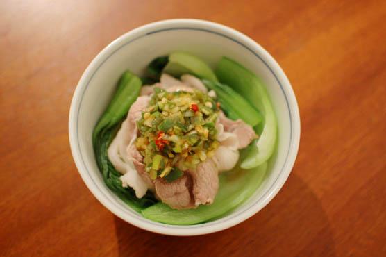 豚しゃぶ香味ダレ レシピ