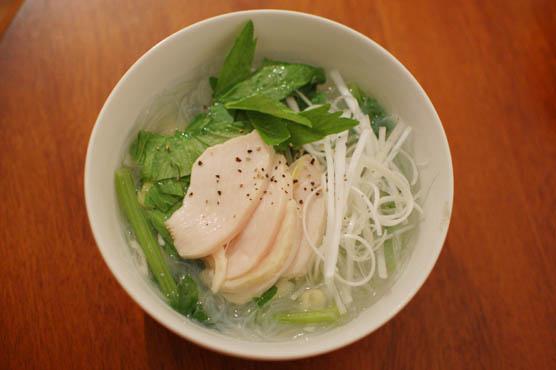 鶏出汁春雨スープ レシピ