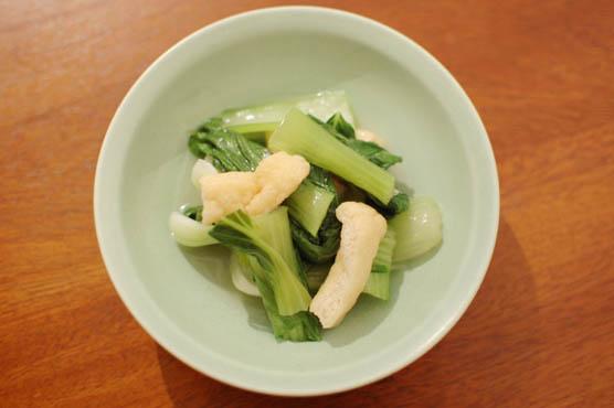 青梗菜の煮浸し レシピ