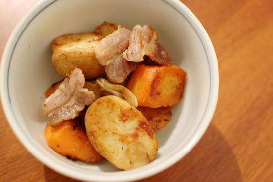 塩豚とじゃがいものオイル焼き レシピ