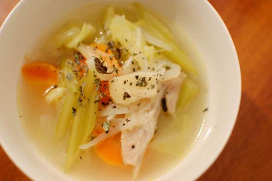 シンプルな野菜スープ レシピ