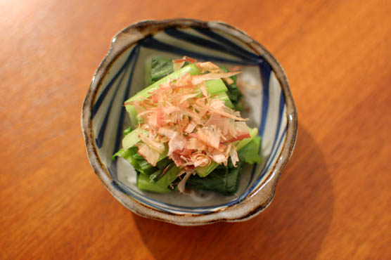 小松菜のおひたし レシピ