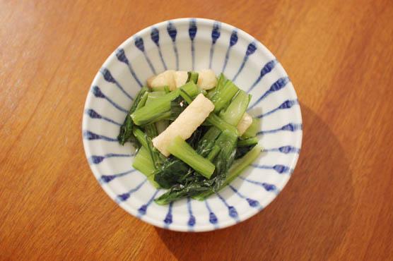 小松菜の煮浸し レシピ