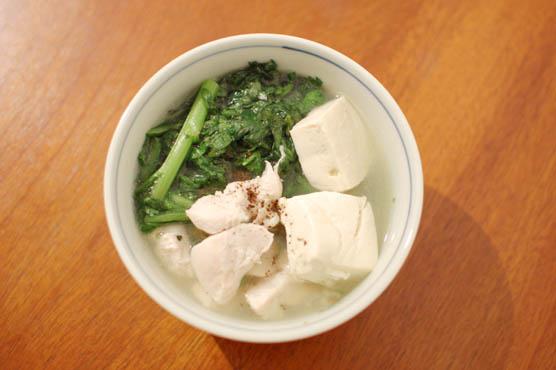 鶏豆腐 レシピ
