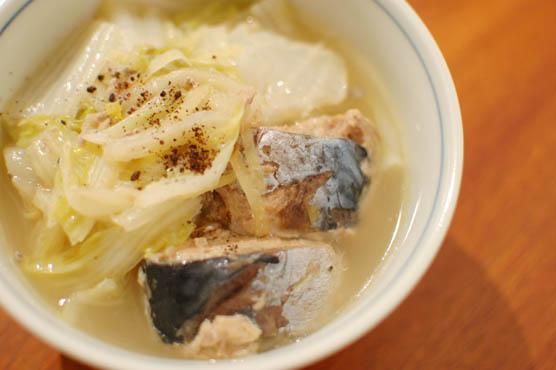 鯖水煮缶レシピ