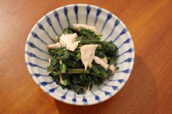 春菊のからし和え レシピ