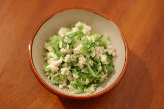 キャベツの白和え レシピ