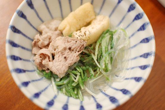 豚のハリハリ鍋 レシピ