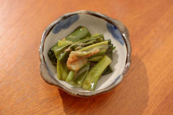 葱のおかか煮 レシピ