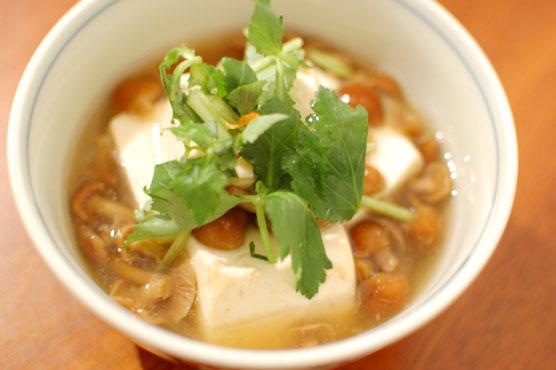 なめこ豆腐 レシピ