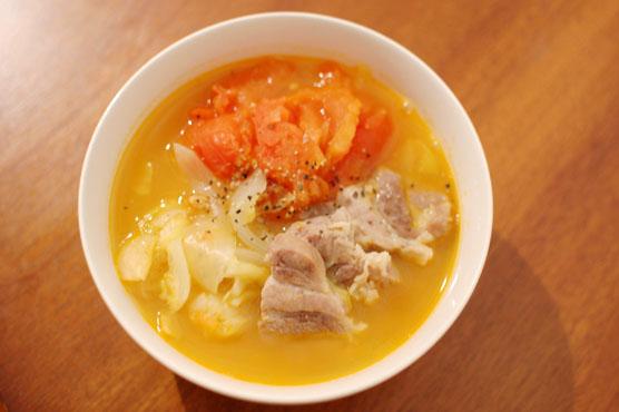 塩豚のトマト煮 レシピ