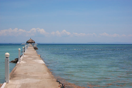 パシフィックセブリゾート 桟橋