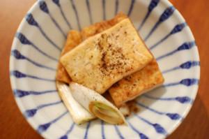 浅七 いり焼き豆腐