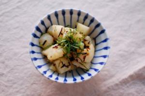 塩昆布のポテトサラダ