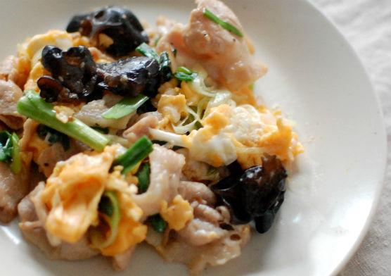 木須肉 レシピ