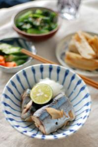 秋刀魚 献立
