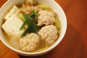 鶏団子のスープ煮
