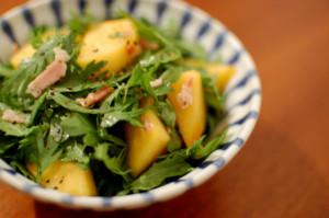 柿のサラダ