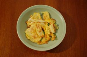 葱の卵炒め レシピ