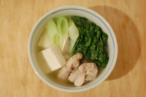 三州屋風鶏豆腐のレシピ