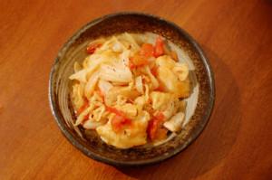 鶏胸肉のトマト煮込み
